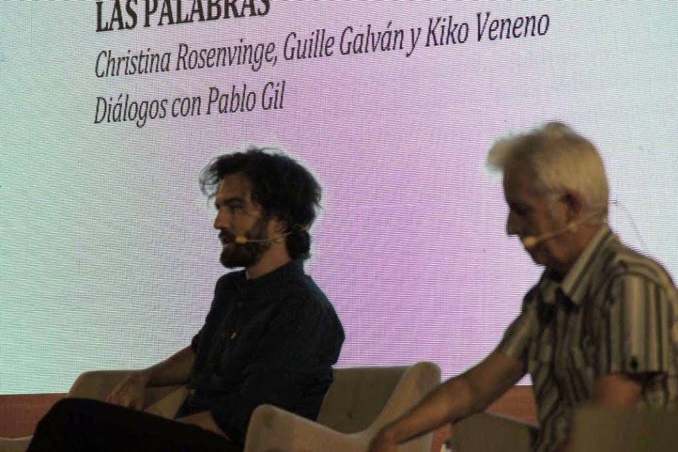 Guille Galván y Kiko Veneno