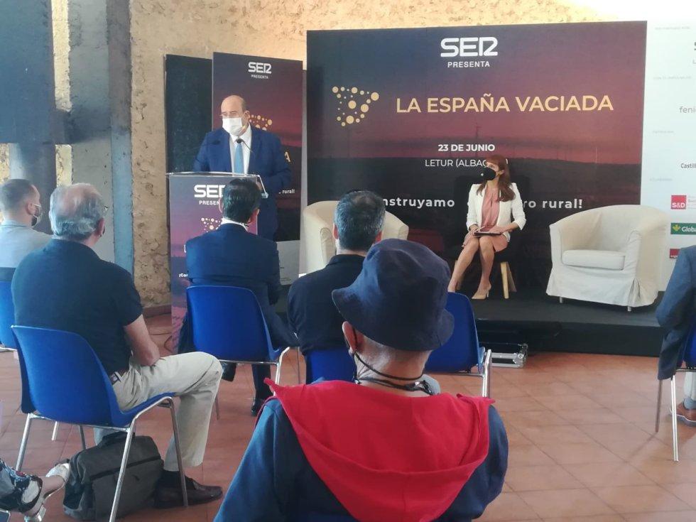 """Imágenes del Foro """"La España Vaciada"""" de Letur"""