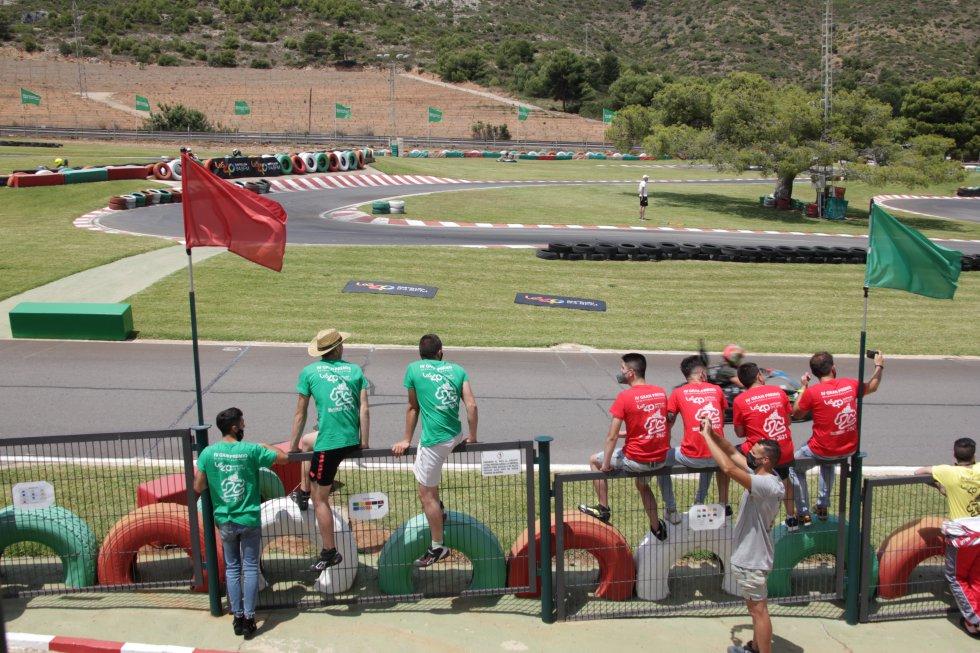 Los participantes han seguido todas las carreras
