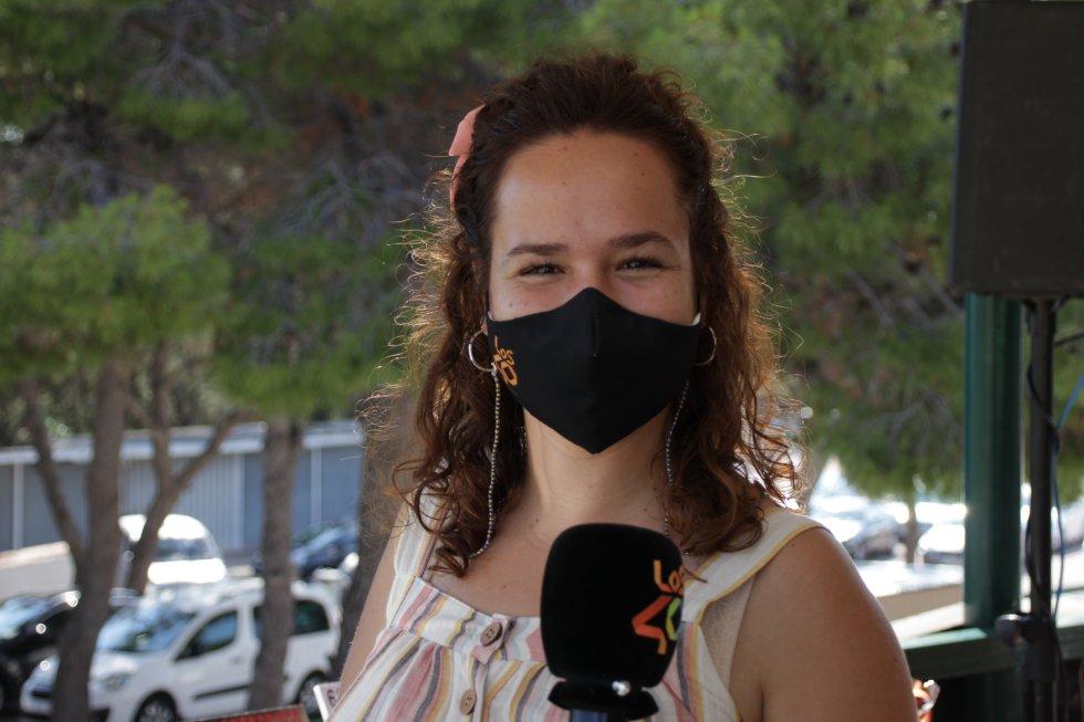 La periodista y locutora de LOS40 Castellón, Laura García
