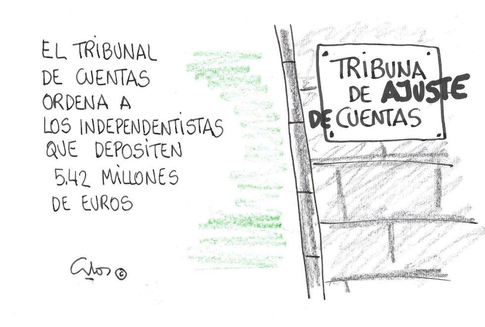 La viñeta de Villanueva, Tribunal de Cuentas