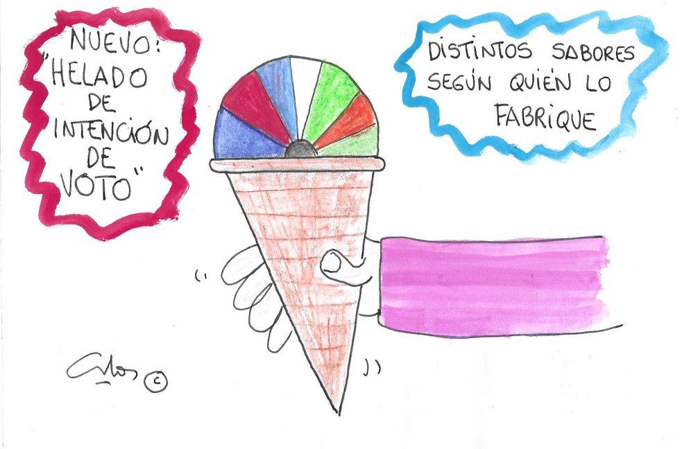 La viñeta de Villanueva, helados