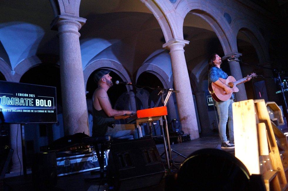 Las mejores imágenes de 'Túmbate Bolo' con Andrés Suárez en Toledo