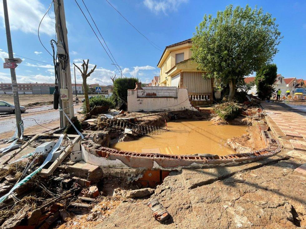 FOTOGALERÍA   Cobisa, día 1 tras la gran tormenta