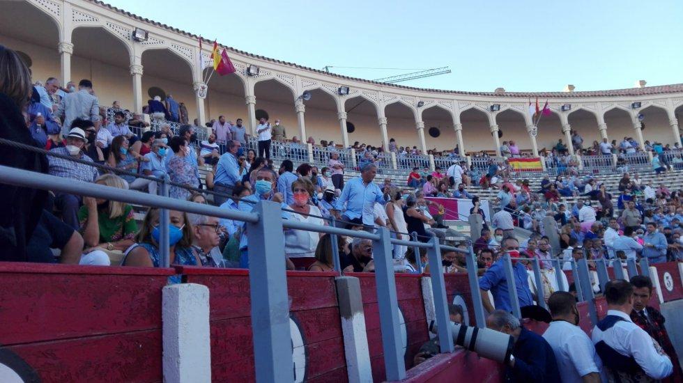 El público albaceteño ya tenía ganas de disfrutar de los toros