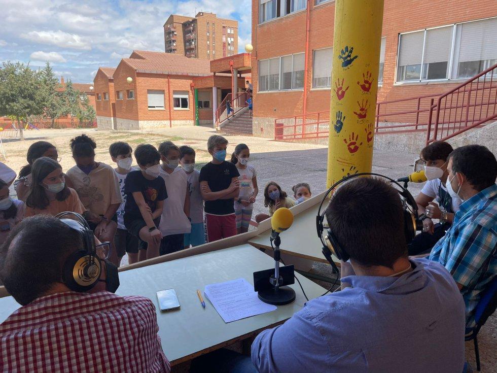 FOTOGALERÍA | La Vuelta al Cole, en Hoy por Hoy Toledo