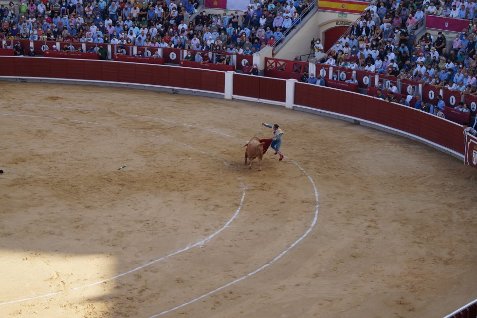 Antonio Ferrera ha pinchado con su primer toro