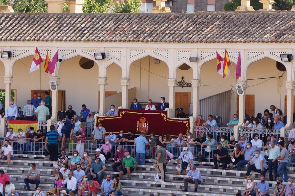 La presidenta de la Plaza de Toros de Albacete, Genoveva Armero