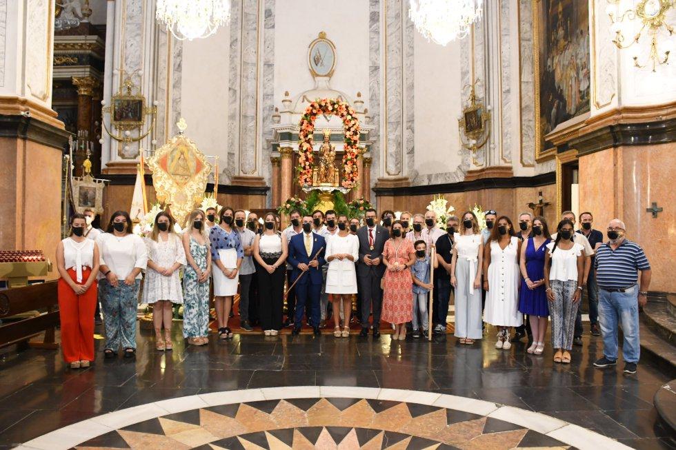 Ofrena i processó de retorn de la Mare de Déu de Gràcia de Vila-real