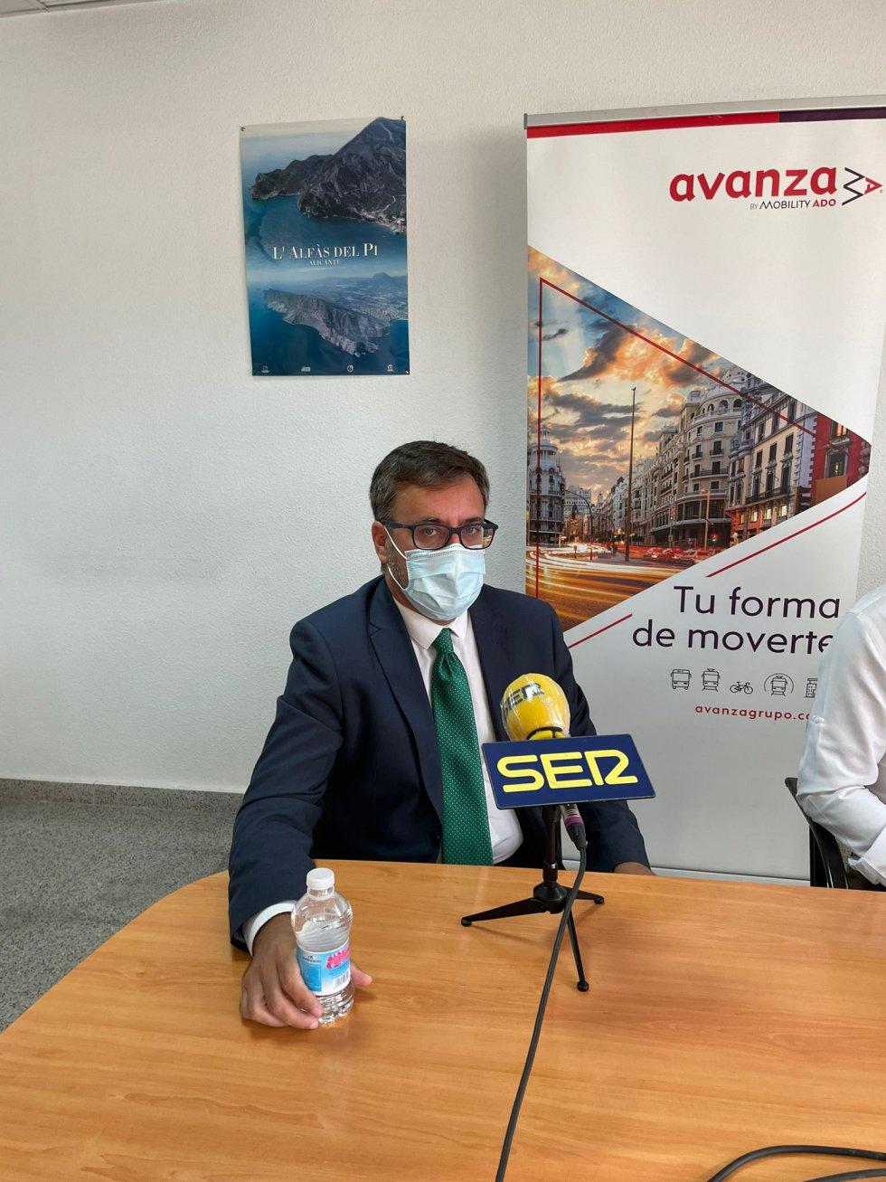 El director de la división de Levante en Avanza, Luís González