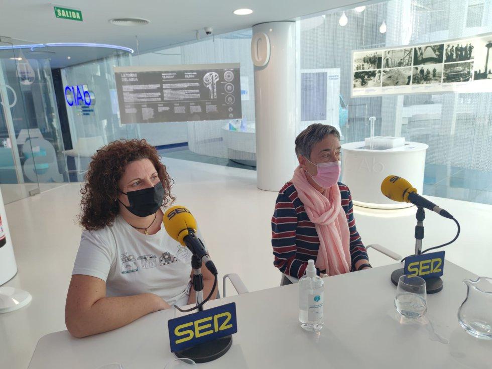 Las imágenes de 'Hoy por hoy Albacete' desde el Centro de Interpretación del Agua