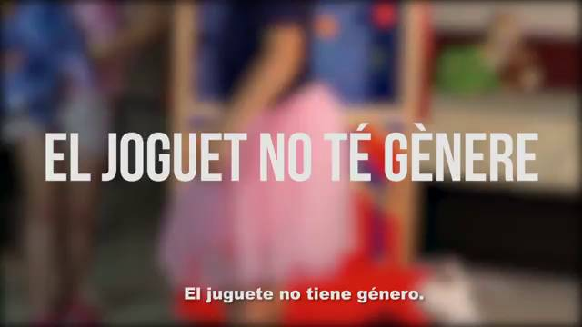 Sensibilización El Campaña Joguet De No La Té Gènere Generalitat PiOkuwXZT