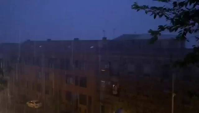 Lluvia recogida en guadalajara