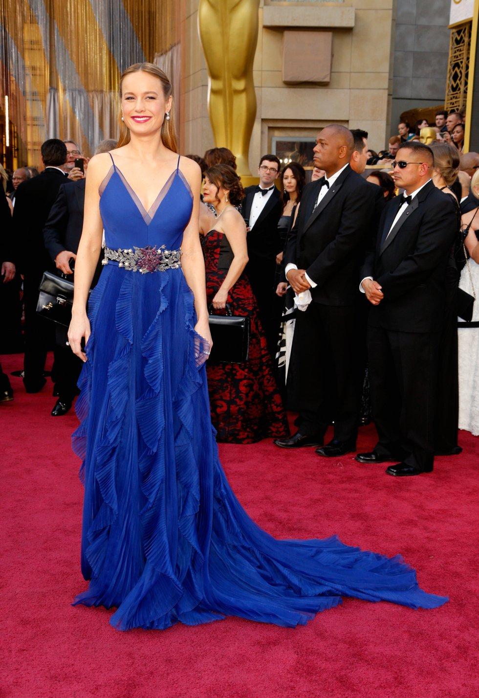 La actriz Brie Larson