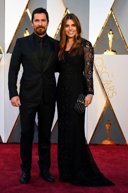 El actor Christian Bale y Sibi Blazic