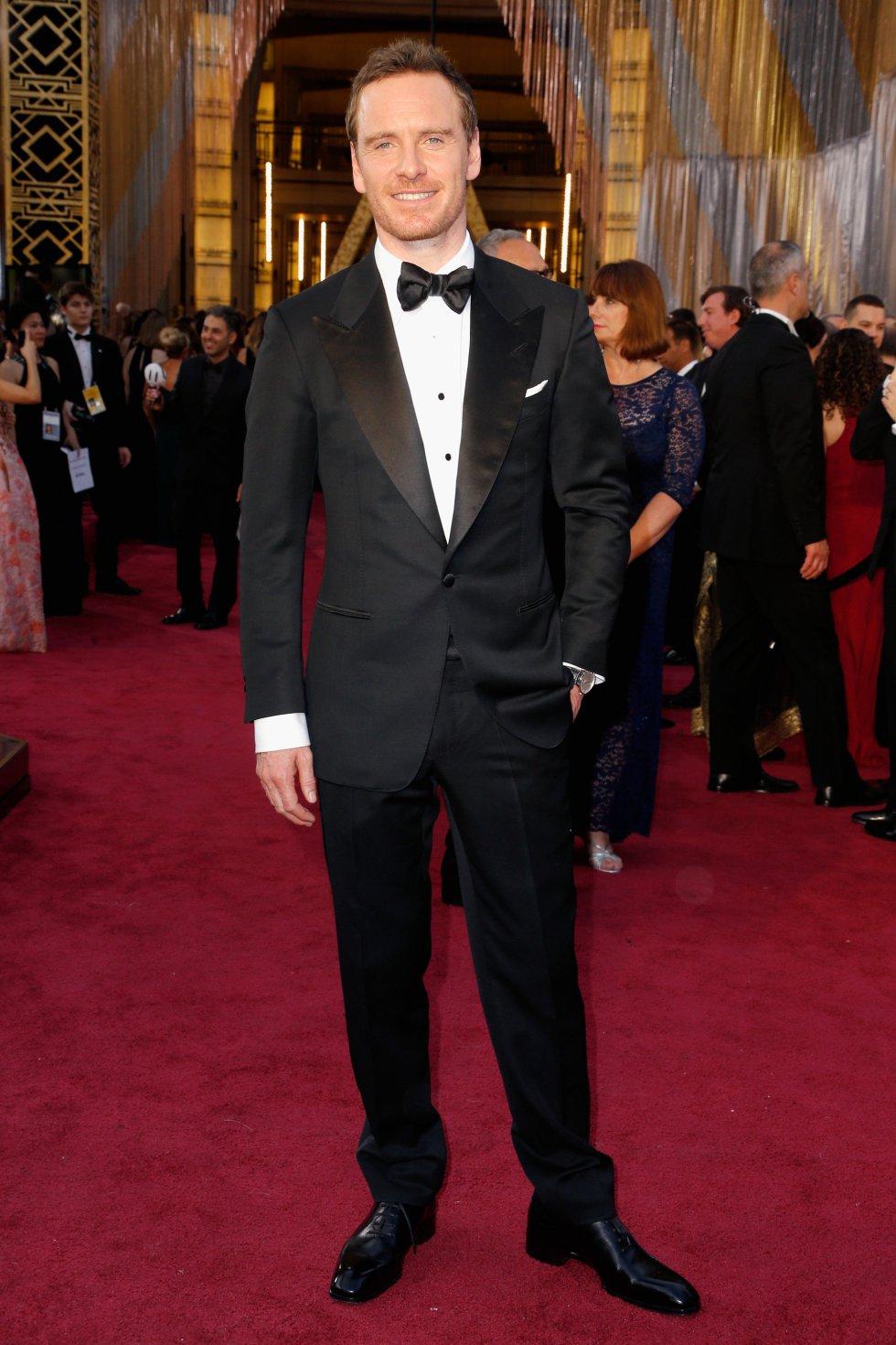 El actor Michael Fassbender
