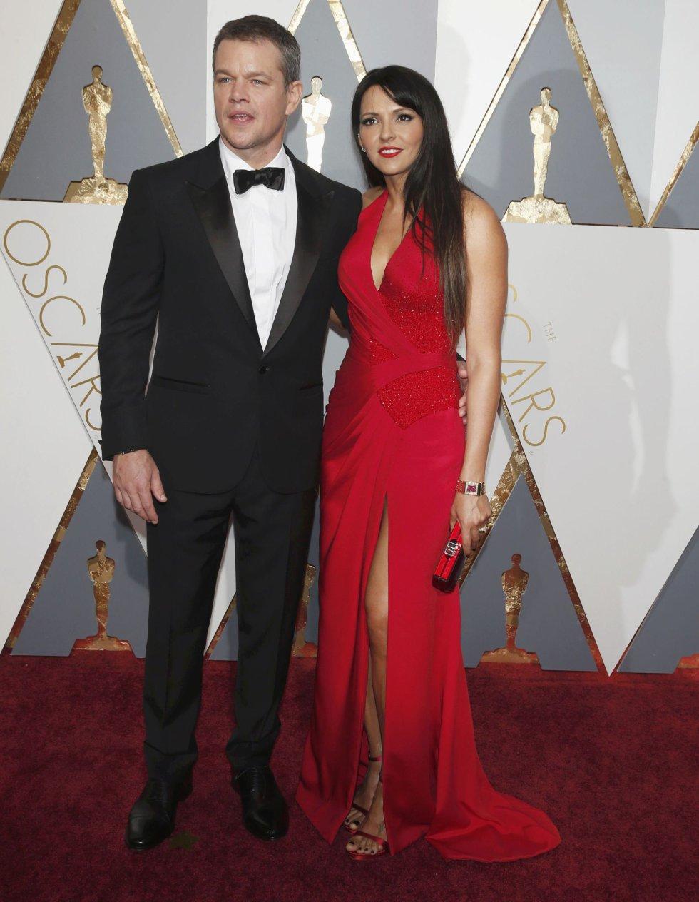 Matt Damon, nominado a mejor actor por 'Marte'