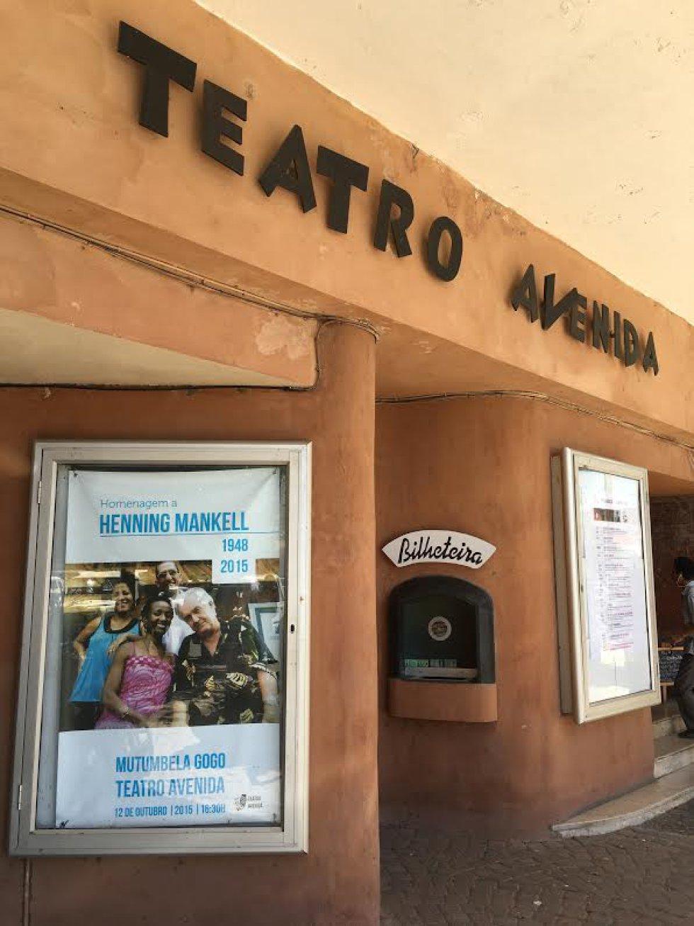 El Teatro Avenida en el que trabajó Henning Mankell como director artístico de la compañía Mutumbela Gogo.