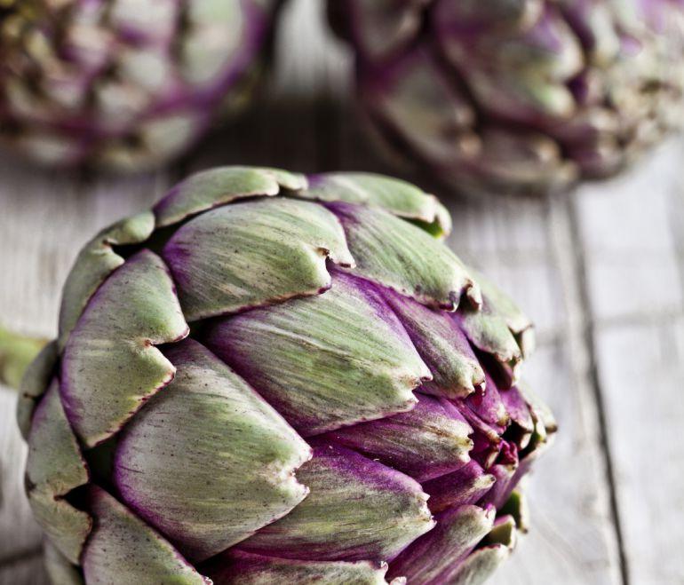 Productos naturales de alcachofa