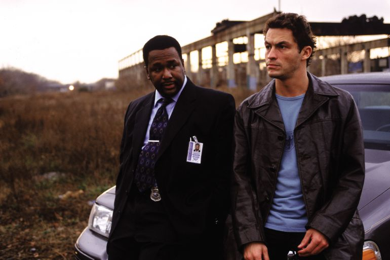 Bunk y McNulty, dos de los protagonistas de 'The Wire'