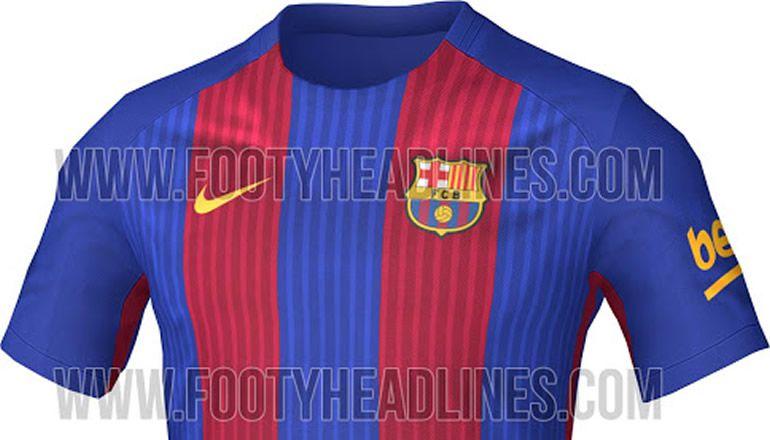 3244ab37d0238 Se filtra la equipación del FC Barcelona para la temporada 2016 17 ...