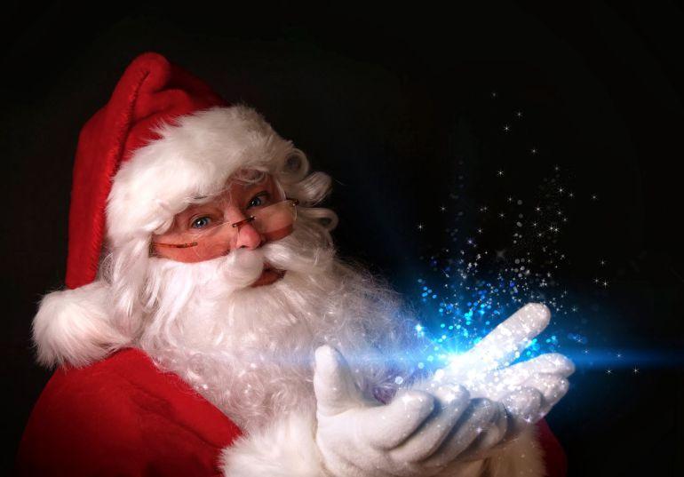 Imagenes De Papa Noel De Navidad.El Nino Que Odiaba La Navidad Habla Con Papa Noel La