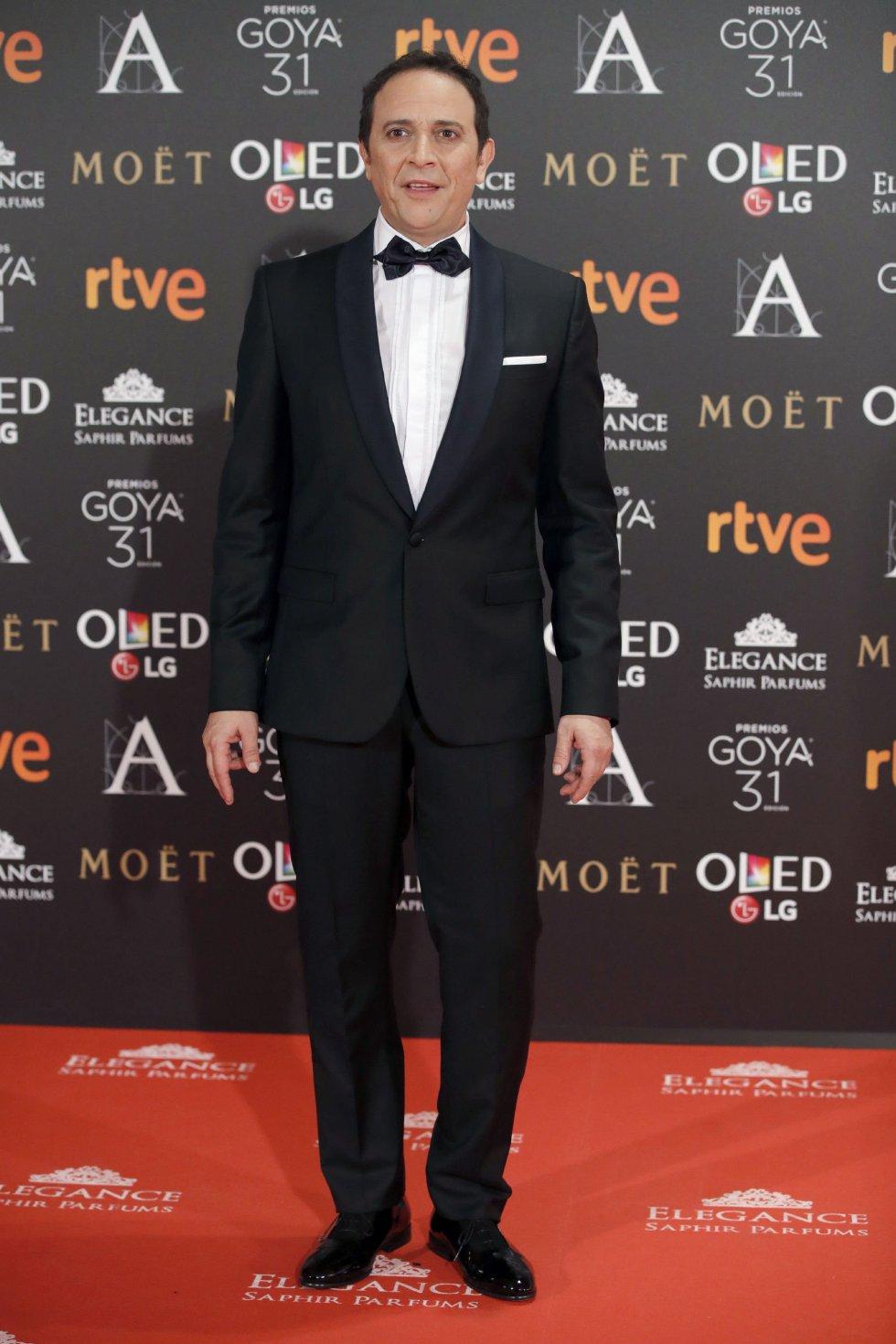 El actor Luis Callejo