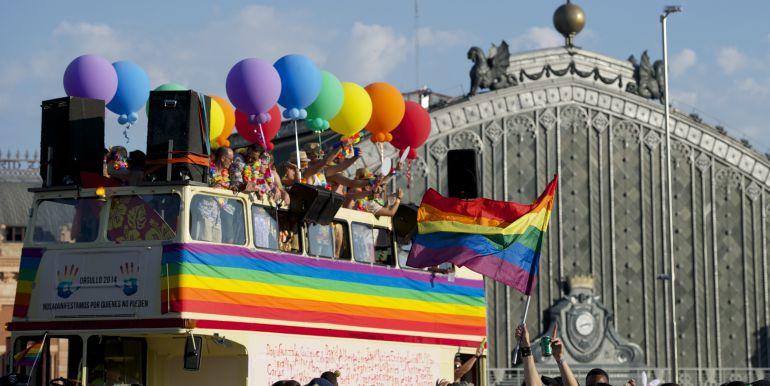 Horario del desfile del Orgullo Gay 12222 en Madrid