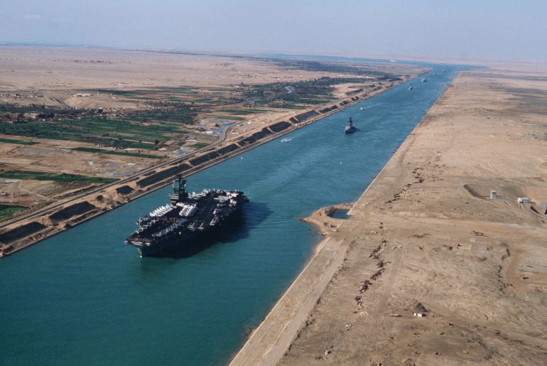 Resultado de imagen para canal de suez en egipto