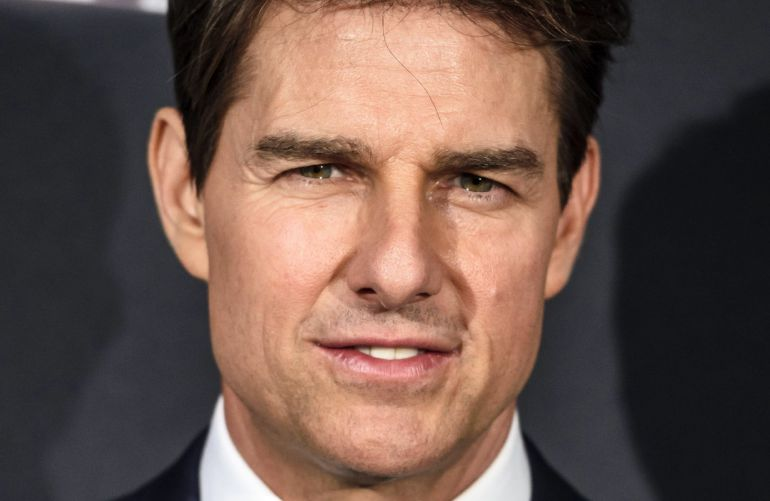 El actor estadounidense Tom Cruise.