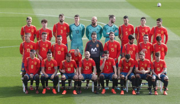 La selección española de fútbol f232a462dfa7e