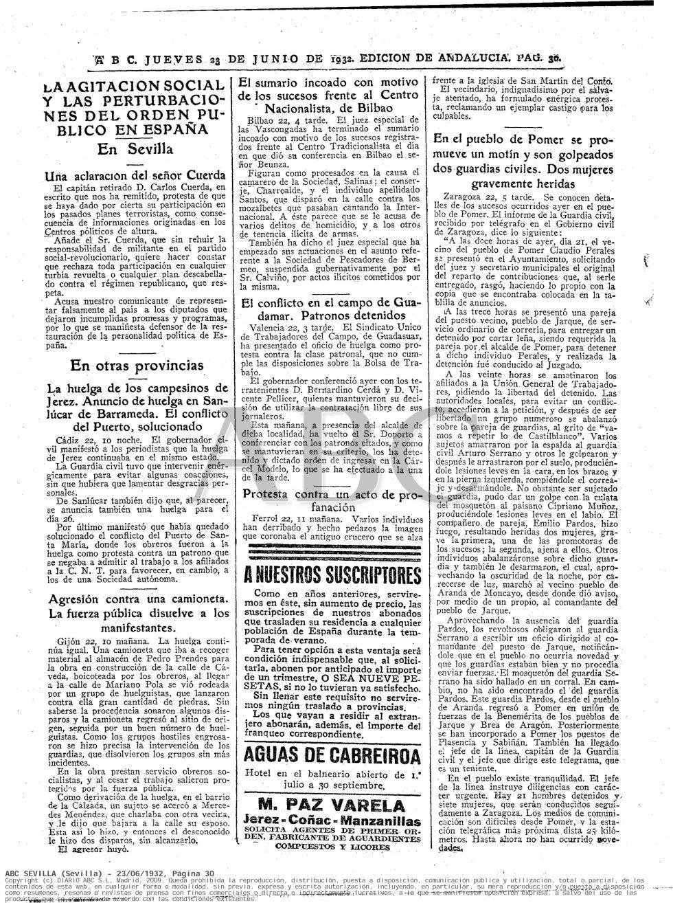 Periódico ABC. Fecha: 23 de junio de 1932. Edición de Andalucía. Pág. 30. Enlace: http://hemeroteca.abc.es/nav/Navigate.exe/hemeroteca/sevilla/abc.sevilla/1932/06/23/030.html
