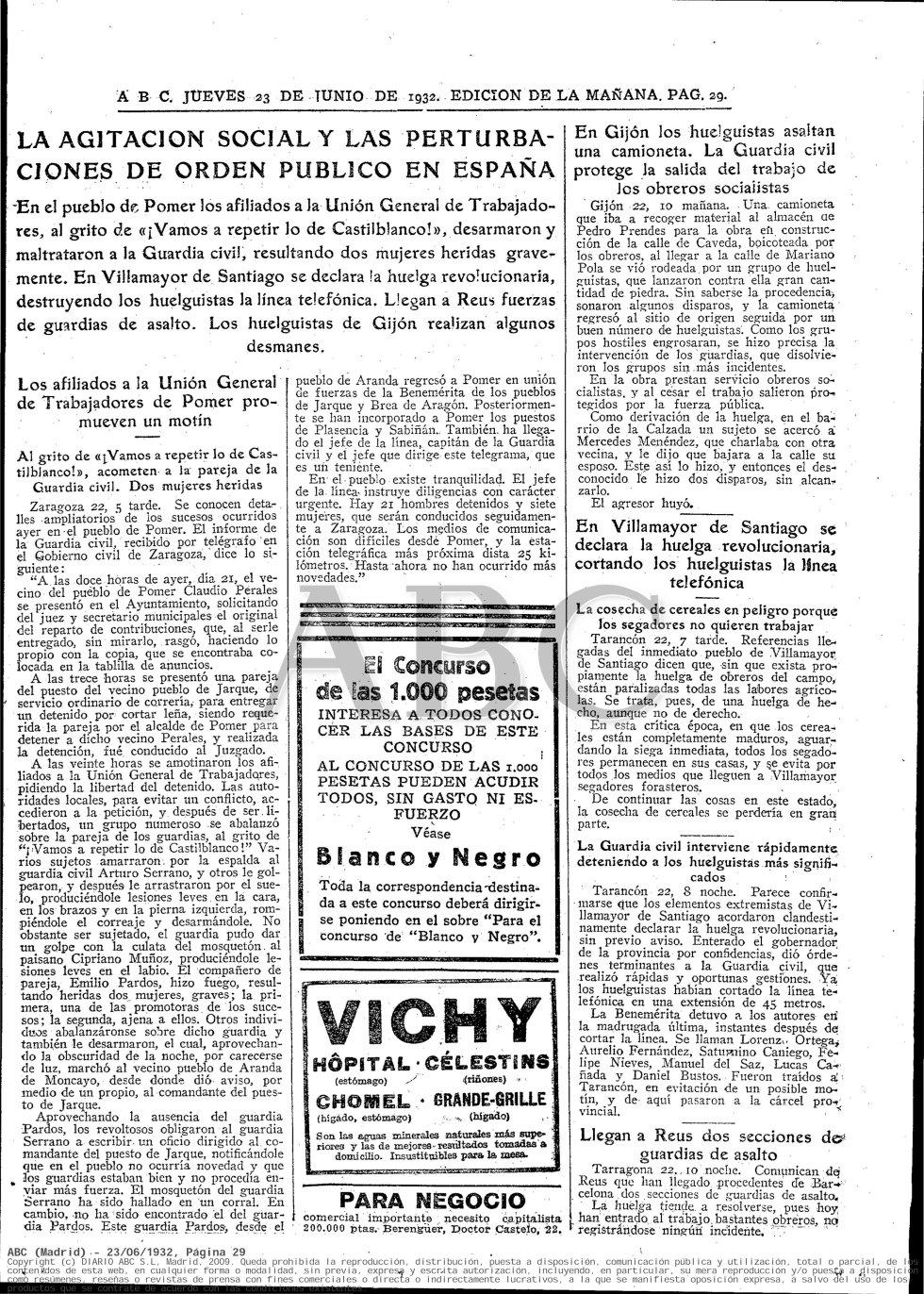 Periódico ABC. Fecha: 23 de junio de 1932. Edición de la mañana. Pág. 29. Enlace: http://hemeroteca.abc.es/nav/Navigate.exe/hemeroteca/madrid/abc/1932/06/23/029.html