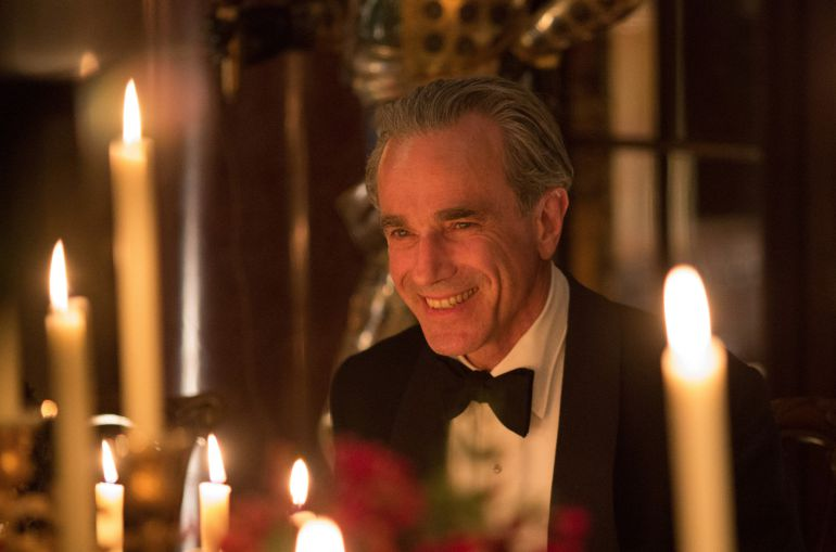 El actor Daniel Day-Lewis en 'El hilo invisible'