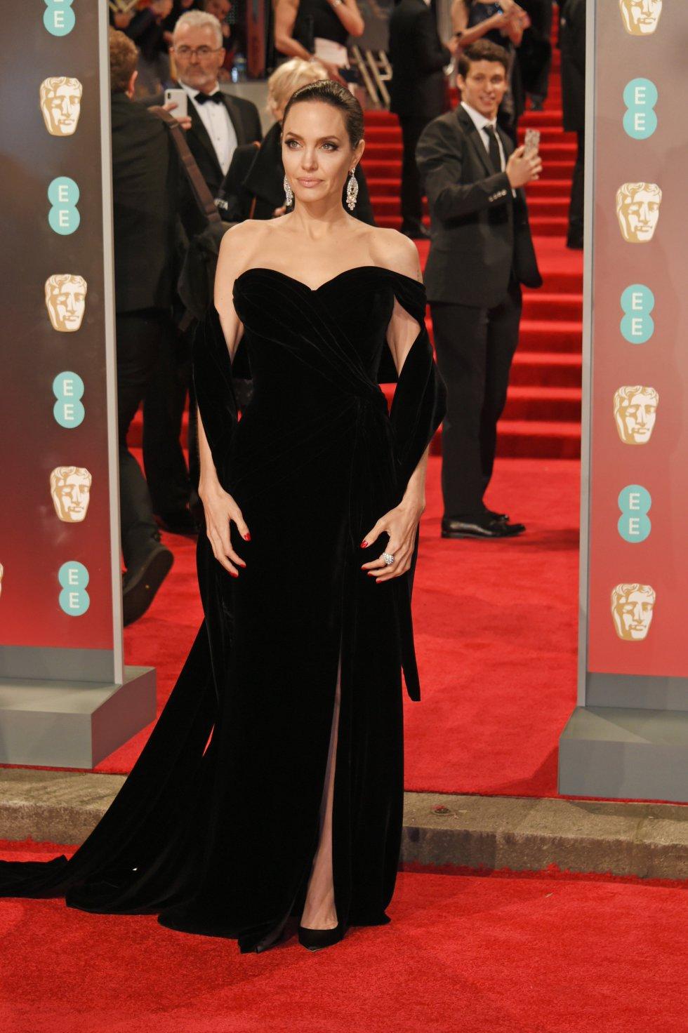 Angelina Jolie fue una de las grandes estrellas de la noche