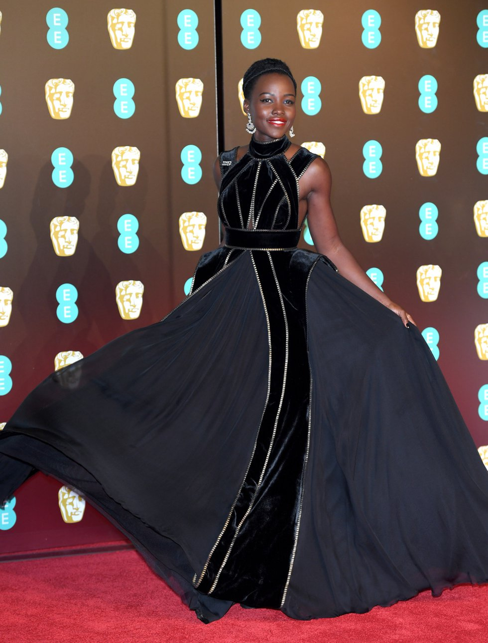 La oscarizada actriz Lupita Nyong'o
