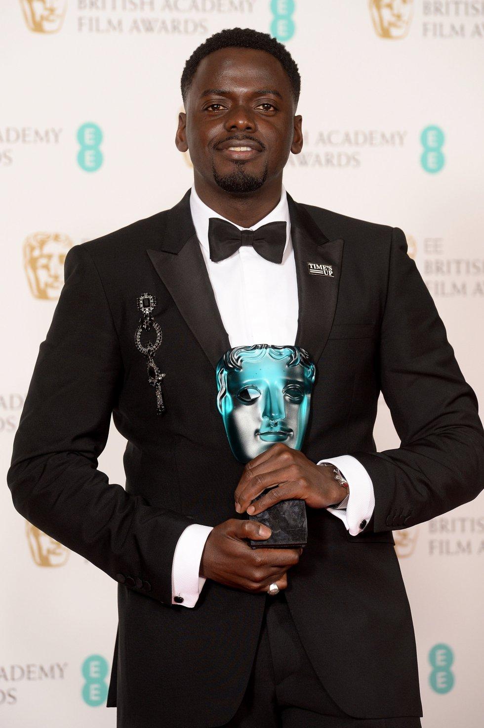 El ganador del premio a Estrella Emergente, Daniel Kaluuya