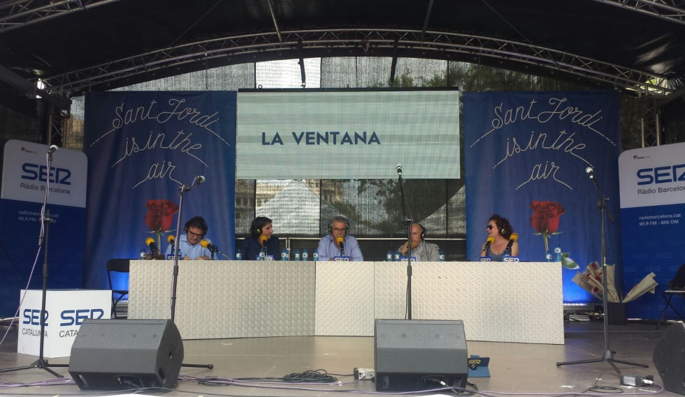 Programa especial de 'La Ventana' desde Barcelona, con motivo del Día de Sant Jordi