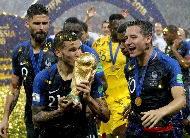 Resultado de imagen de lucas hernandez copa del mundo