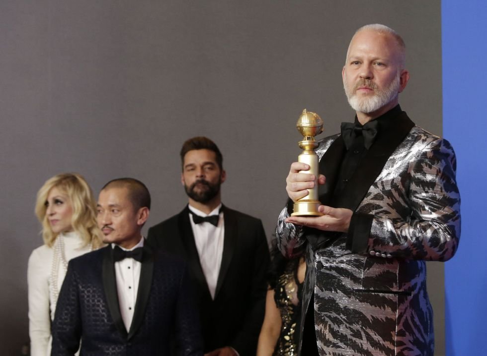 Ryan Murphy, creador de la miniserie El asesinato de Gianni Versace, que ha logrado dos Globos de Oro, mejor miniserie y mejor actor protagonista para Darren Criss.
