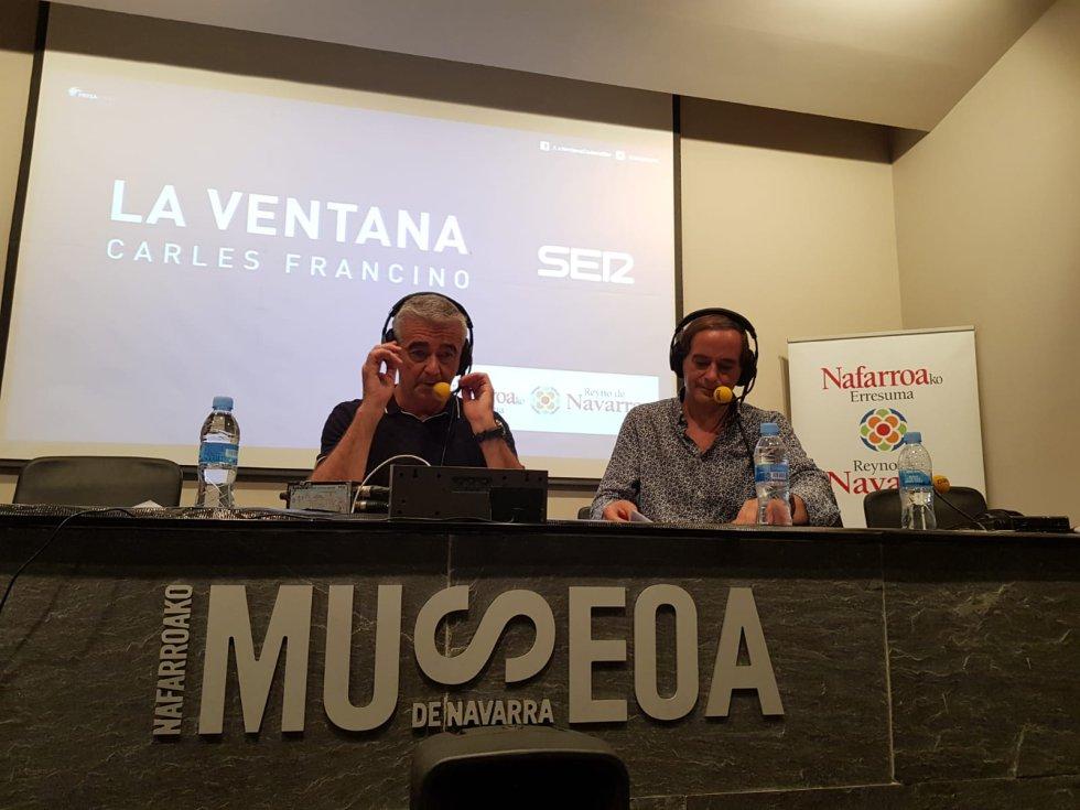 Unidad de Vigilancia lingüística con Isaías Lafuente y Carles Francino