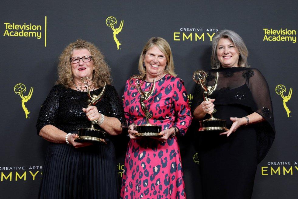 Jane Walker, Kay Bilk y Pamela Smyth.