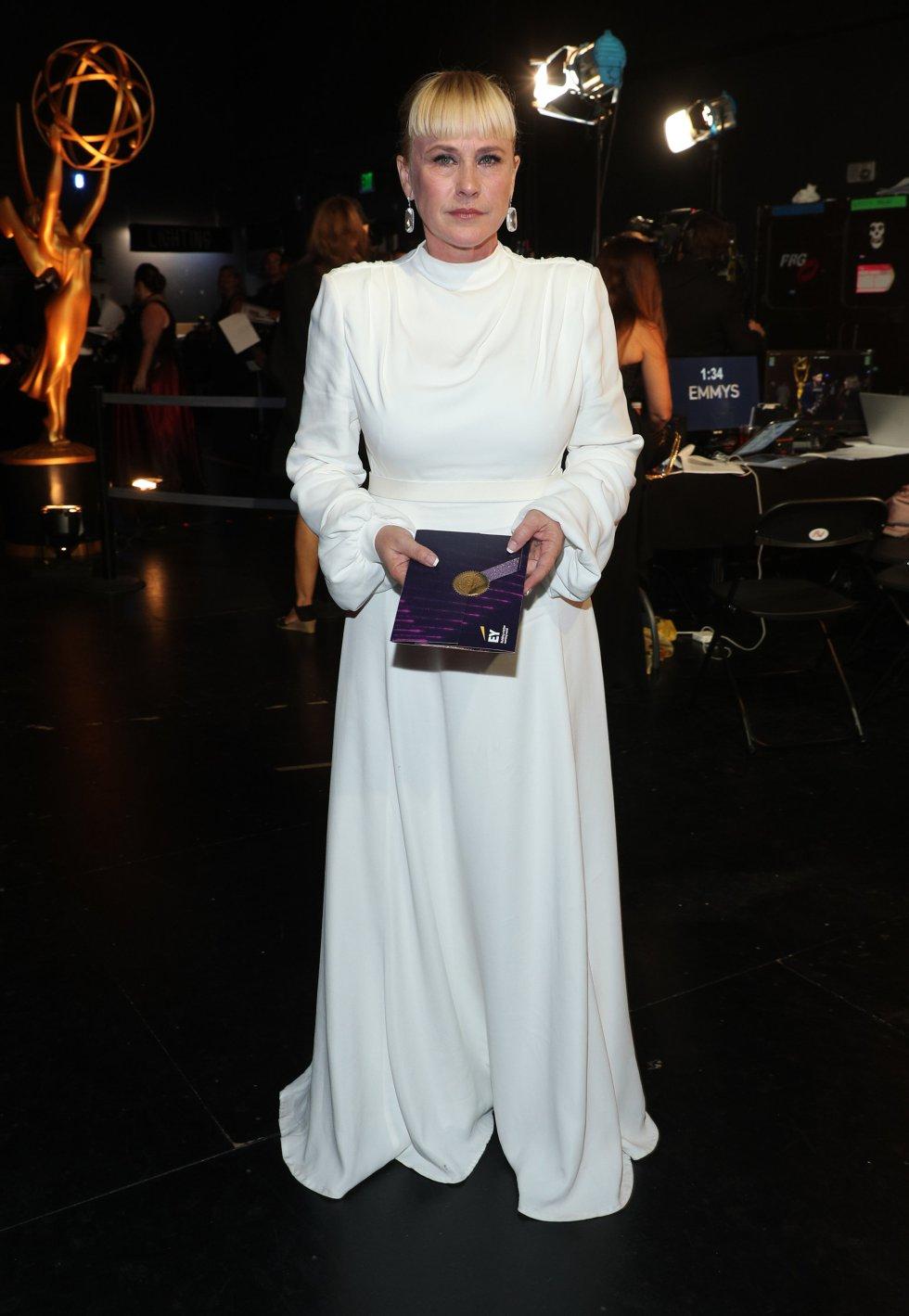 Patricia Arquette, en la gala.