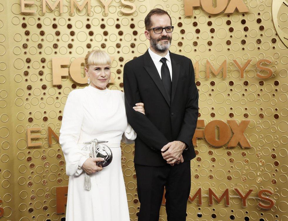 Patricia Arquette y Eric White.