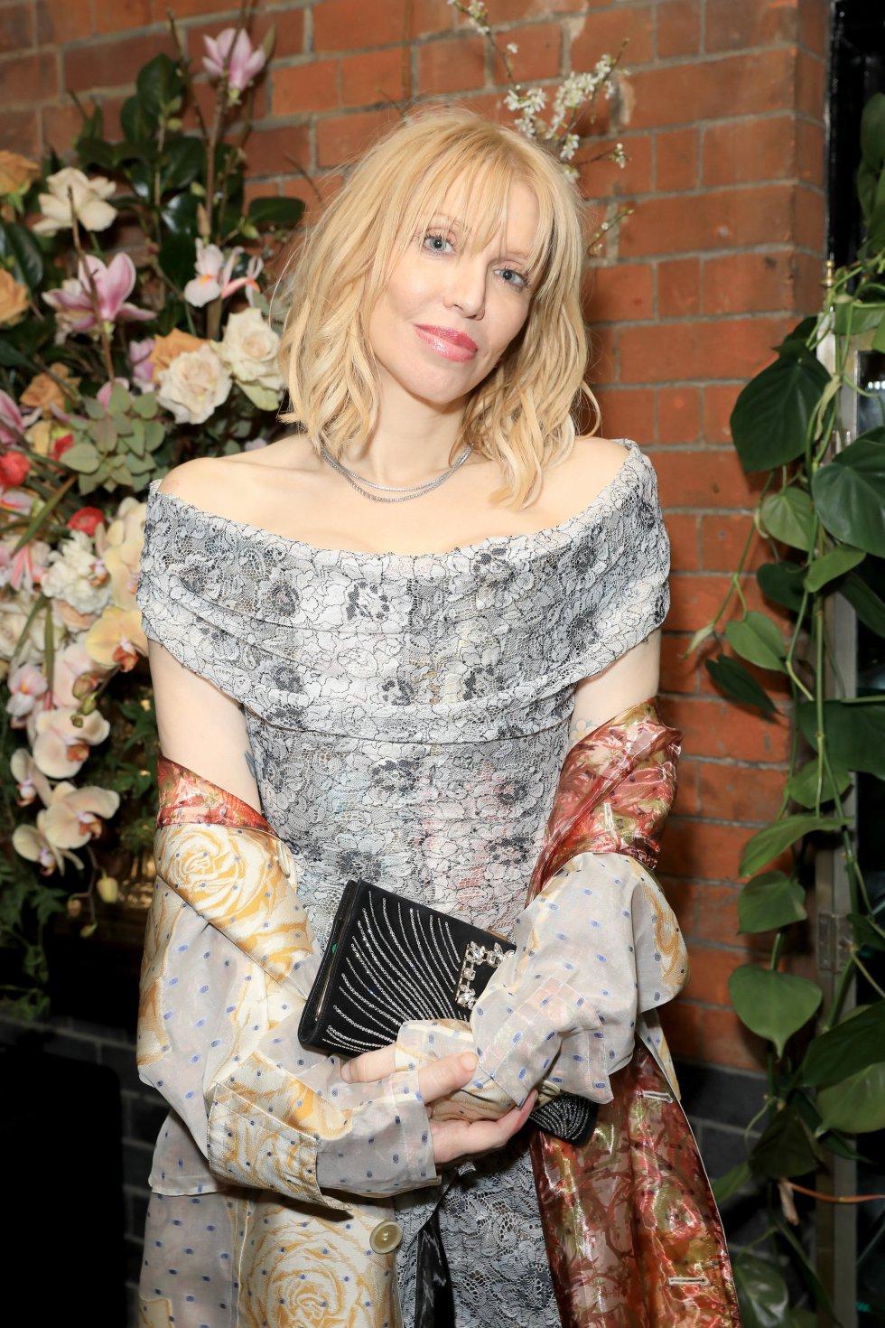 Courtney Love, en la alfombra roja.