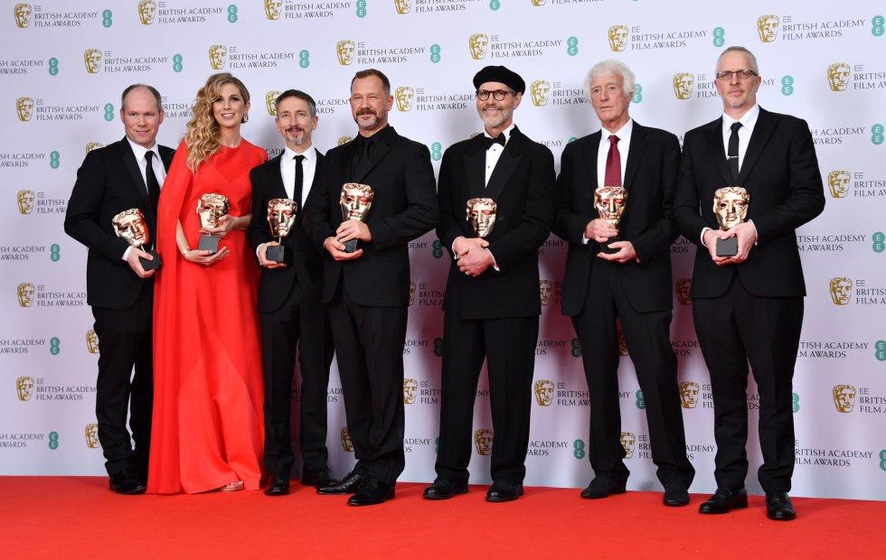 Oliver Tarney, Rachael Tate, Mark Taylor, Stuart Wilson, Dennis Gassner, Roger Deakins and Lee Sandales.