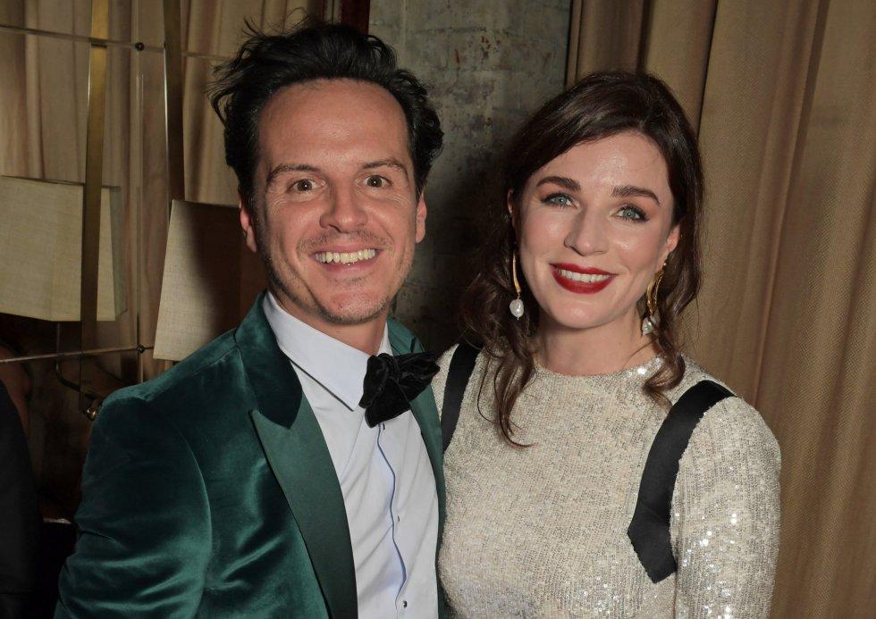 Andrew Scott y Aisling Bea, Premios Bafta 2020.