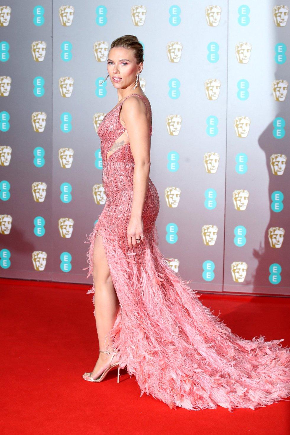 Scarlett Johansson,  en la alfombra roja.