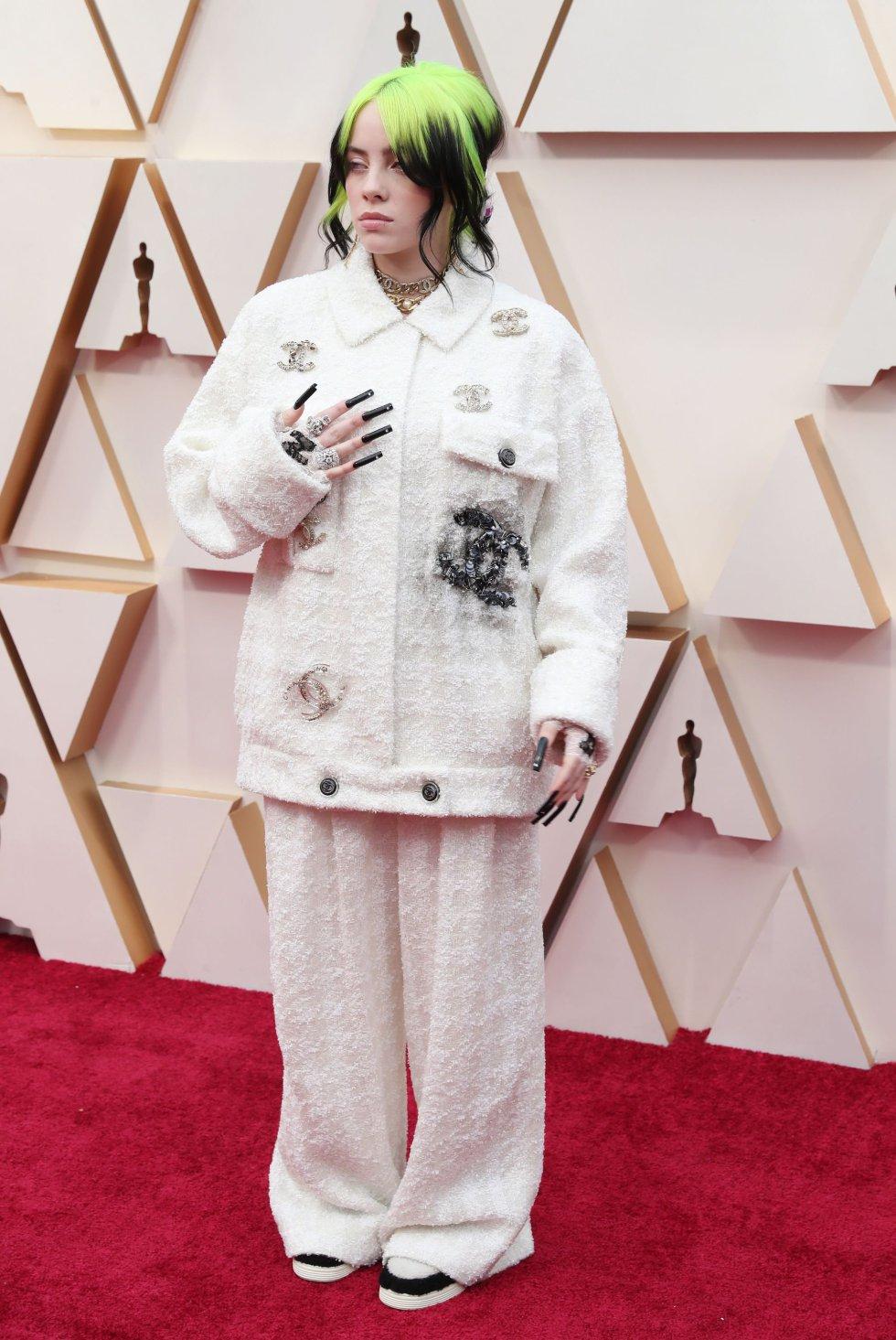 Billie Eilish, ganadora de los principales premios Grammy, cantará en la gala de esta noche