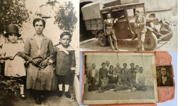 Vecinos represaliados de Zufre (Huelva)